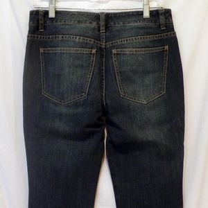 Classic Talbots Mid-Rise Stretch Boot Cut Jeans